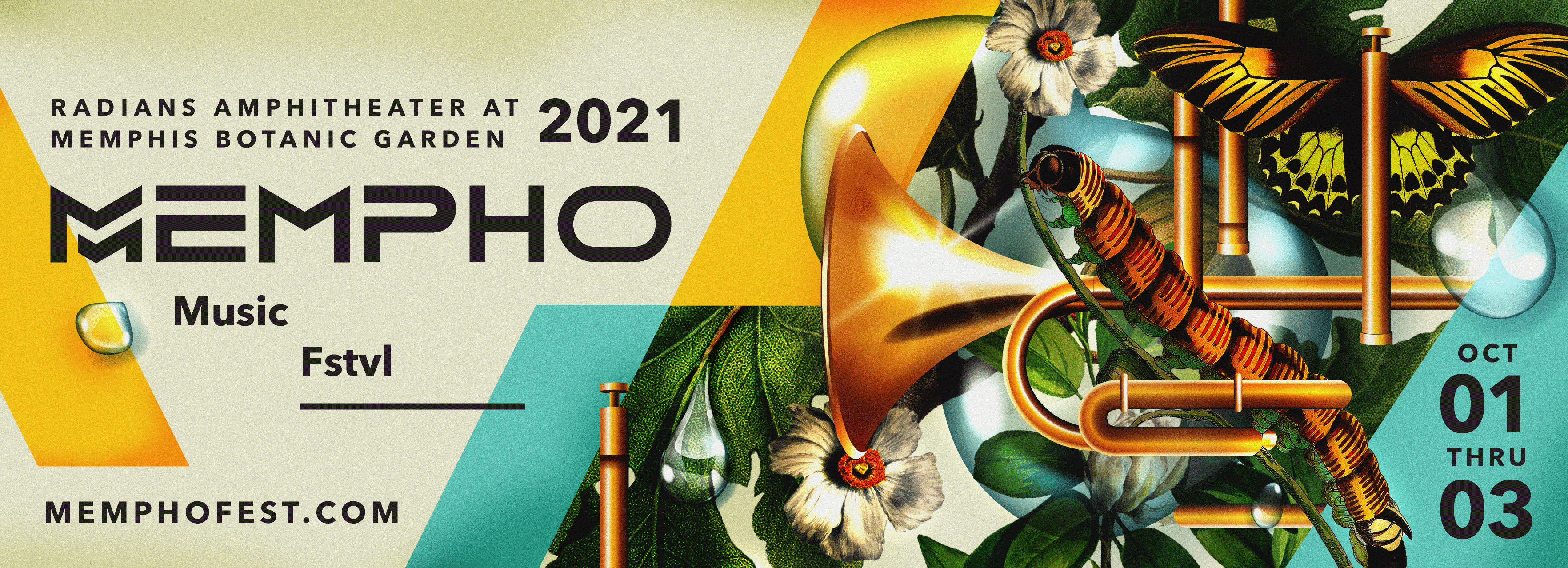 poster for Mempho music festival 2021