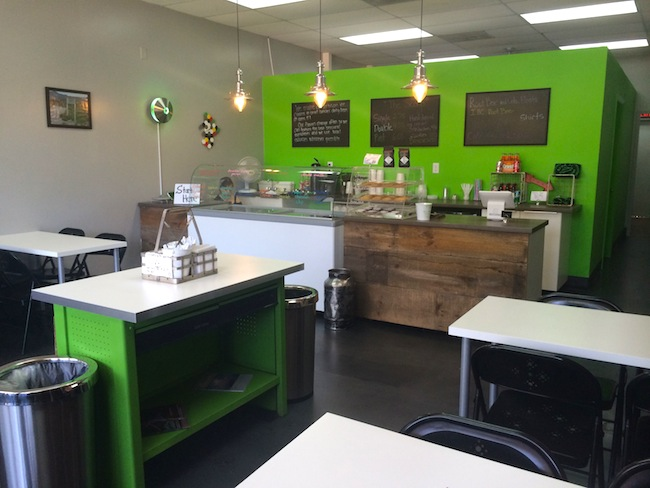 Area 51 Ice Cream Interior