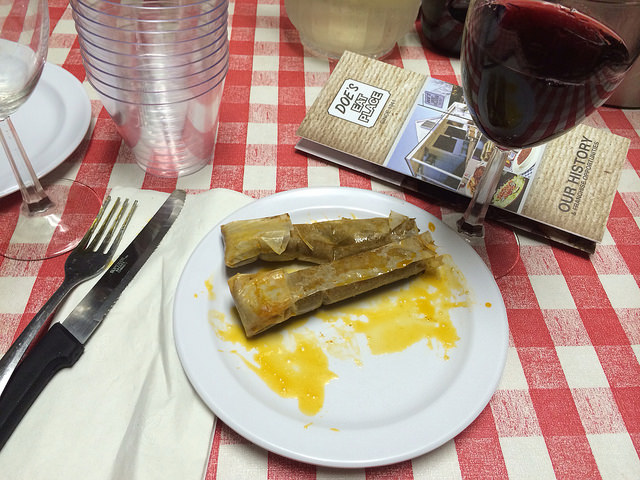 Does Eat Place tamales