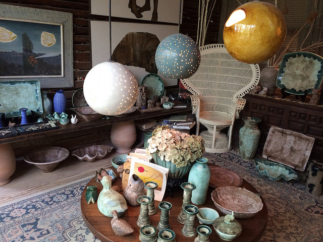 McCarty Pottery Showroom