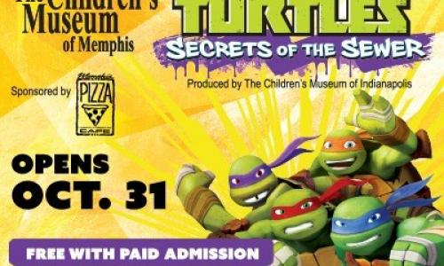 The Children's Museum presents Teenage Mutant Ninja Turtles