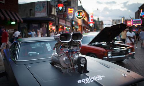 Hot Rod on Beale Event